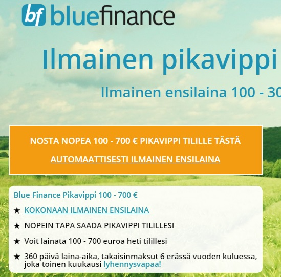 Bluefinance vippi